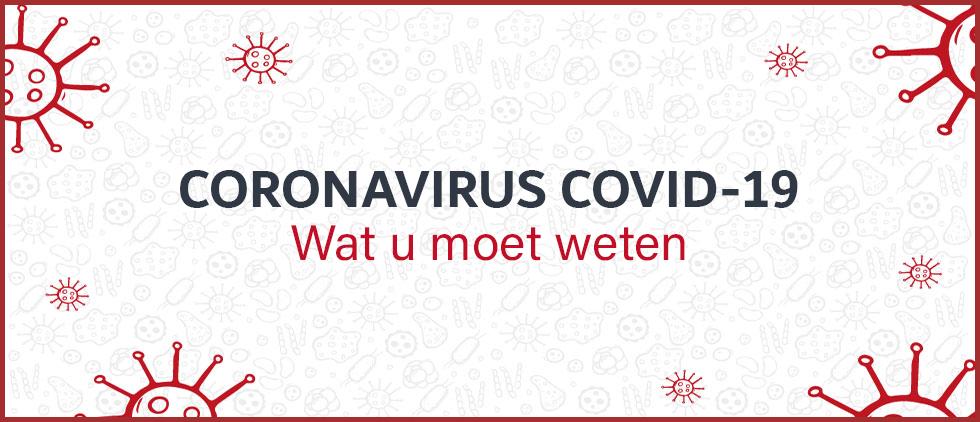 Coronavirus COVID-19 : wat u moet weten