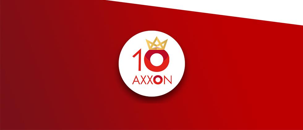 AXXON bestaat 10 jaar!