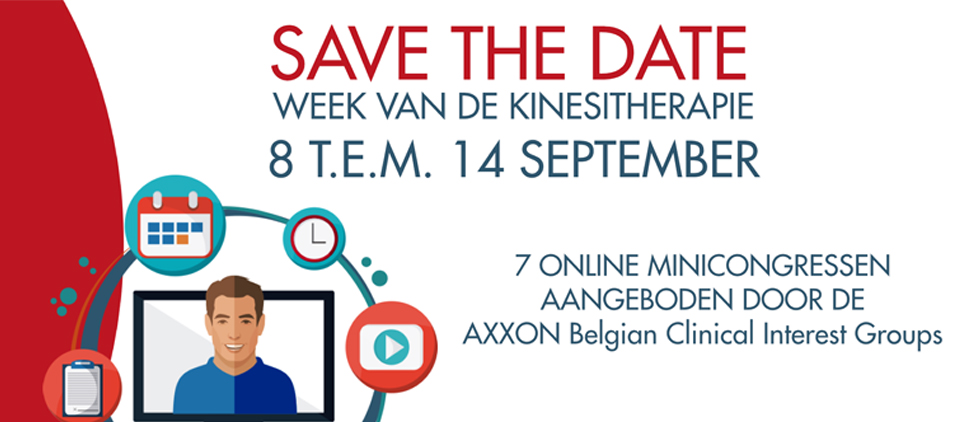 Week van de Kinesitherapie: volg de online conferenties!
